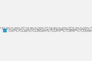2010 General Election result in Braintree